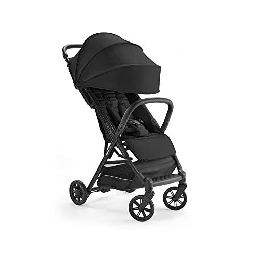 Inglesina Quid Stroller - Lightweight, Foldable & Compact Baby Stroller for Travel - Onyx Black (AG87M0ONBUS/D)