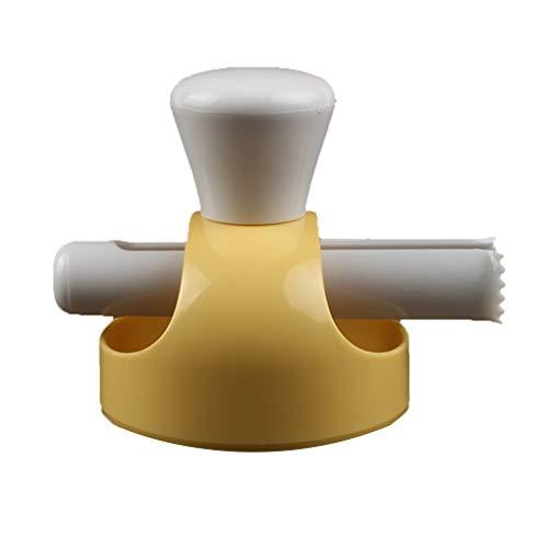 Mingtongli Pinzas Molde Grande para Hornear Utensilios Dona presionar Molde de la Galleta del Pan Hueco plástico Que Hace la Herramienta