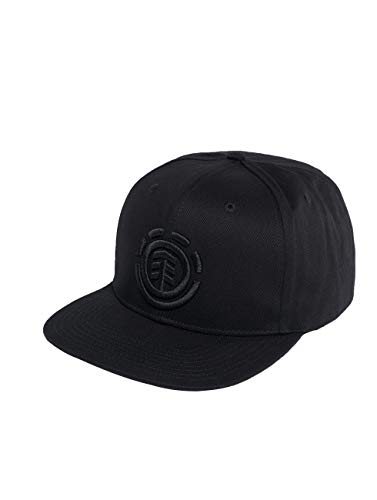 Element Knutsen Cap A Caps, Hombre, Flint Black, One Size
