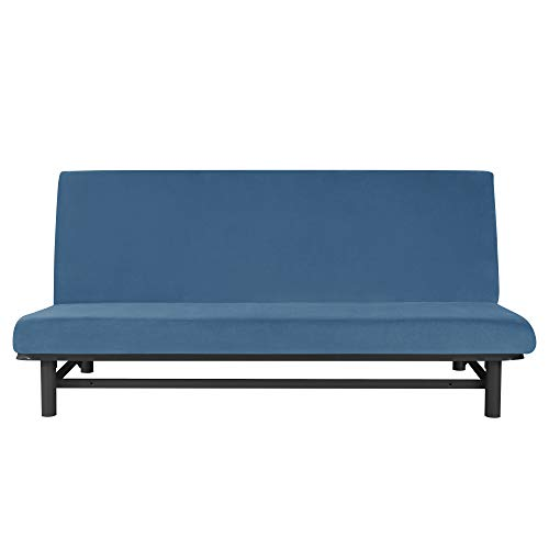MILARAN Funda de sofá de terciopelo de 3 plazas, 1 pieza su