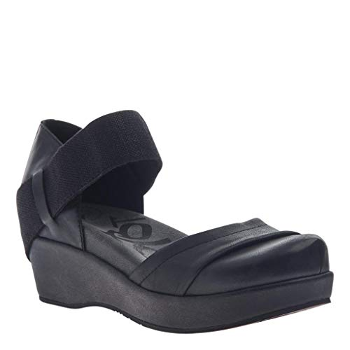 OTBT Women's Wander Out Closed Toe Wedges - Black - 7.5 M US