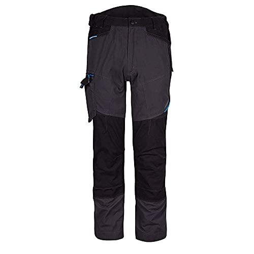 Portwest Pantalone Service WX3 per uomo, Lunghezza Regolare, Colore: Grigio Metallo, Taglia: 34, T701MGR34
