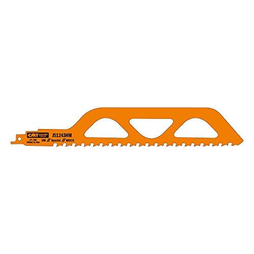 CMT USA, Inc. JS1243HM CMT 2 TPI Carbide Reciprocating Saw Blade for Bricks, 10