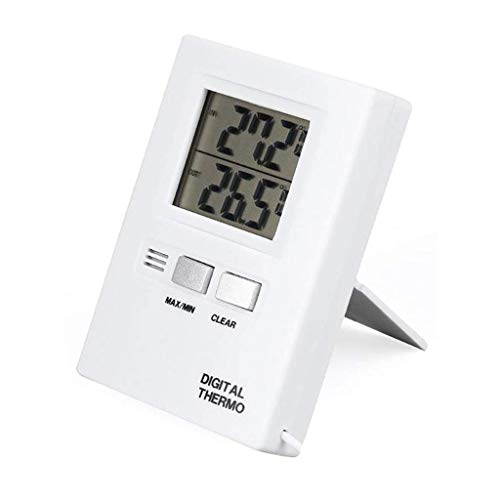 HCFSUK Wall-mounted Digital Thermometer Fridge Freezer LCD Digital Indoor and Outdoor Thermometer