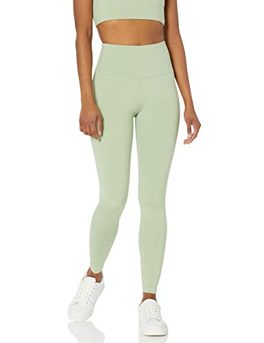 Amazon Essentials Women's High Rise Full Length Every Day Fitness Legging, Light Green, X-Small