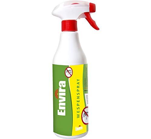 Envira Wespenspray (500 ml) - Anti-Insektenspray mit Sofortwirkung gegen Wespen - Geruchlos & Langzeitwirkung