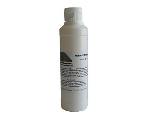 Niemöl Shampoo (Neemöl Shampoo) 250ml Geschmeidigkeit und Glanz für strapazierte Haare von erlesene-naturprodukte