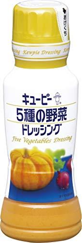 キユーピー 5種の野菜ドレッシング 180ml×4本