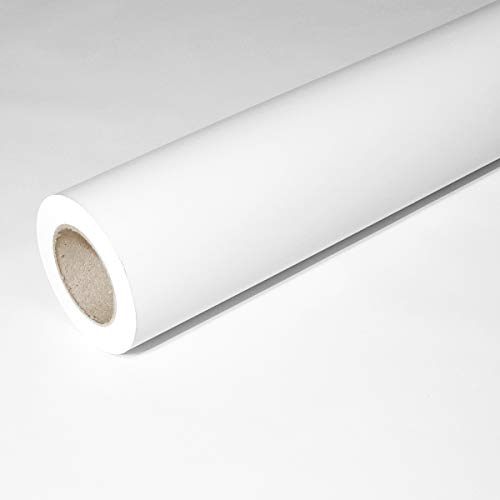 JUNOPAX 43564885 Geschenkpapier 50m x 0,75m weiß