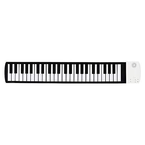 Taidda- Roll Up Piano Klavierspielzeug, Tastatur Klavier Kunststoff Schöne personalisierte modische Faltbare Flexible für Baby Anfänger Spielzeug elektrische Digitale Roll-up-Tastat