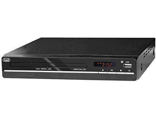 Trevi DVMI 3580 FULL HD Reproductor de DVD Negro - Reproductores de DVD (1080p, MPEG4, MP3, JPG, CD de Audio, DVD-Video, CD,DVD)