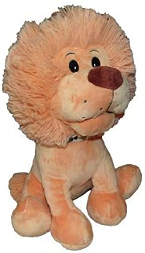 A.K TRADING Lot DE 6 Peluche Lion 30 CM