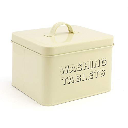 Leonardo Collection Home Sweet Home Boîte pour Stocker Les tablettes de lessive Crème