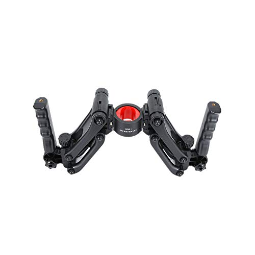 Lookingsky BOB Z-Axis Stabilisator Dual Handle Grip Bracket Holder Compatible with DJI Ronin-S Ronin-SC Zhiyun Crane 2 Weebill s Feiyu AK2000S Beholder EC1 EC2 3-Achsen-Gimbal