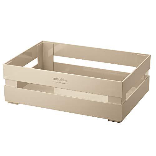 Guzzini Kitchen Active Design Tidy&Store Cassetta XL, 48 x 31 x 15 cm, Marrone (Pale clay)