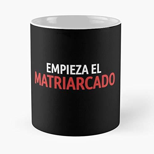 KiwLa Papel TV El Casa Show Cosplay De La Empieza Matriarcado Netflix Taza de café con Leche 11 oz