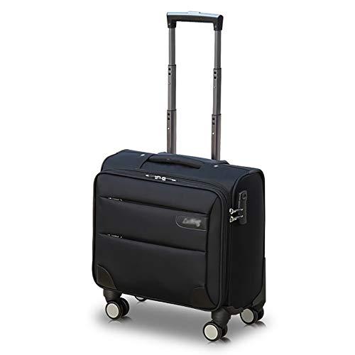 Laptop Roll-Koffer Laptop-Trolley Notebooktasche mit 4 Räder Tasche für Laptop für Geschäftsreisen, Arbeit, Uni etc (Color : D, Size : 36 * 20 * 36)