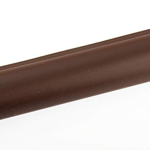mako quickFIX flexibles Treppenkanten-Winkelprofil aus PVC 100x5x3,5cm dunkelbraun