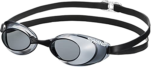 SWANS(スワンズ) 競泳用 スイミング ゴーグル Sniper ノンクッション FINA承認モデル SR-10N スモーク(SMK)