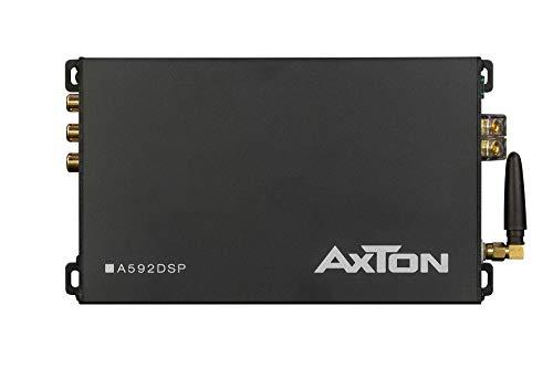 AXTON A592DSP: 4-Kanal Verstärker mit DSP, 4 x 150 Watt, Endstufe mit App-Steuerung, Bluetooth Audio Streaming, Hi-Res Audio optional