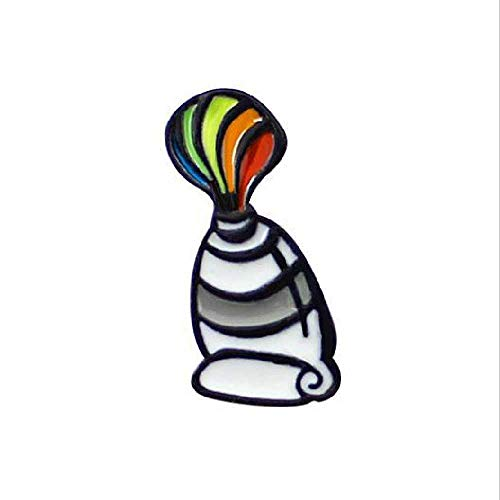 minghui Artista Paleta Pincel De Color Pintura Niños Mochila Accesorios Broche CC004