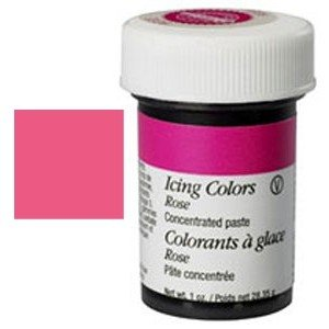 Wilton Paste Colour - Rose