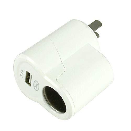 ZWwei Piezas de automóviles Dual USB Cargador Fast CAGLETLE COMPLET Converter 220V A 12V Herramientas y Equipos de automóviles