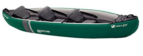 Sevylor Kayak Adventure Plus, Verde/Gris, 373x 90cm,