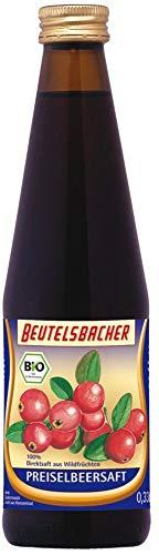 Beutelsbacher Bio Preiselbeersaft Muttersaft (2 x 330 ml)