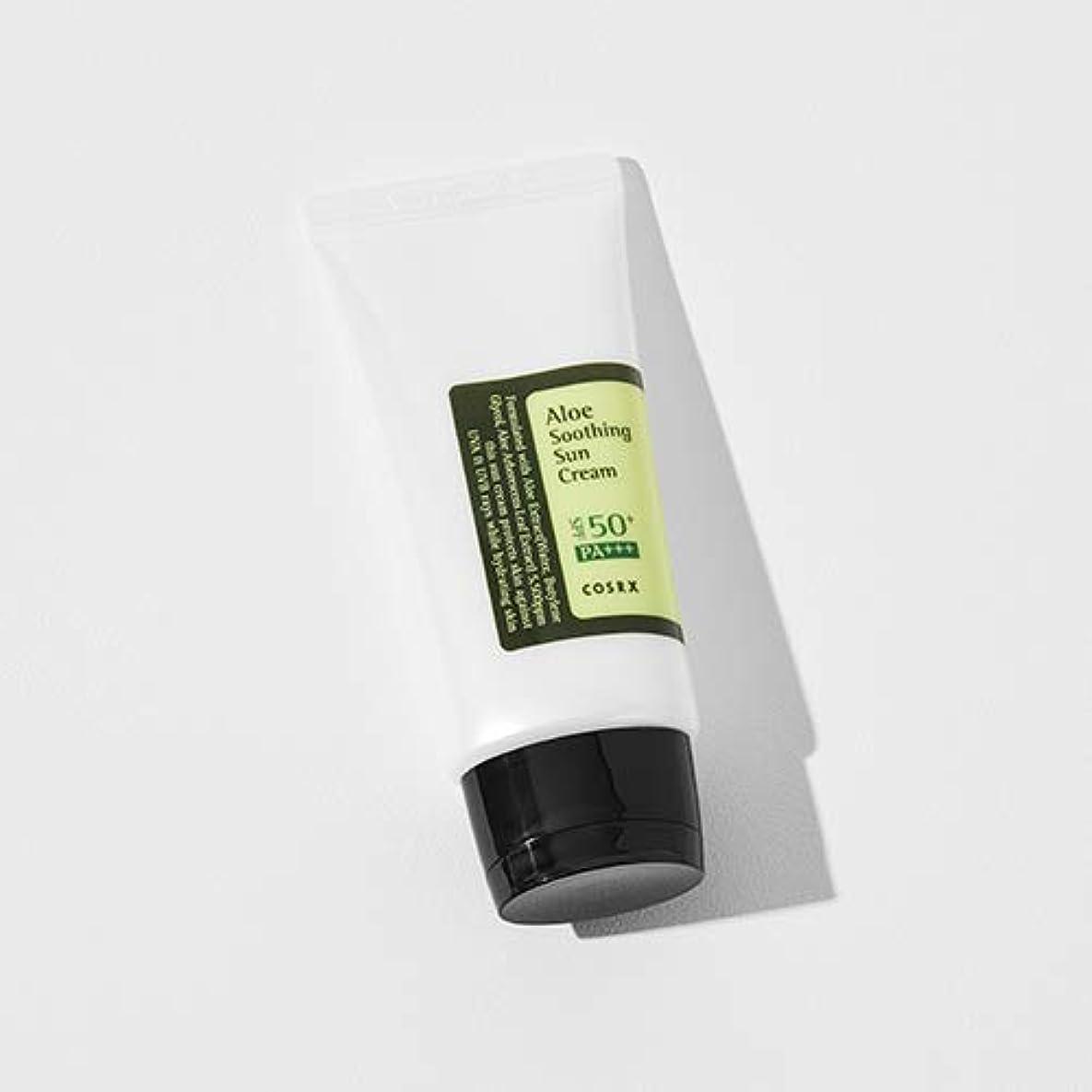 マオリ阻害するあまりにも[COSRX] Aloe Soothing Sun Cream 50ml / [COSRX] アロエ スーディング サンクリーム 50ml [並行輸入品]