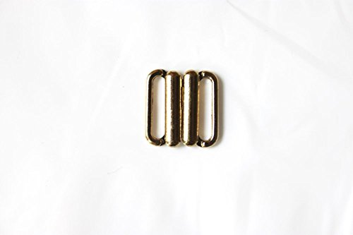 Bikinisluiting 15 mm bikinisluiting bikini metaal zilver goud 85204