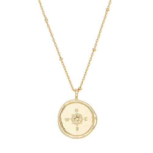 Best brass compass necklace for 2020