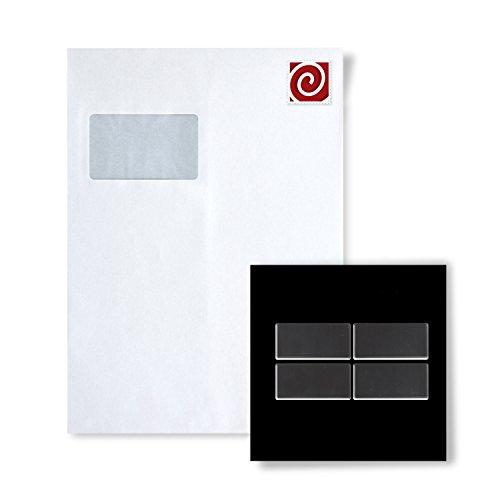 Mosaik MUSTER S-Bauhaus-Ti-SM Kollektion Bauhaus Titan Smoke hochglänzend