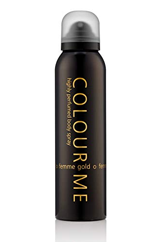 Colour Me Femme Gold Highly Perfumed 150ml Body Spray