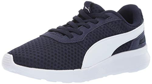PUMA Unisex-Baby ST Activate Sneaker, Peacoat-White, 5 M US Toddler