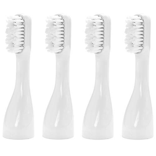 STYLSMILE Lighten Up!™ | Aufsteckbürsten x 4 (Hart) | Ersatzbürsten Elektrische Zahnbürste | LED Licht Technologie | Weiße Zähne & Plaque Entferner | 4er Pack |