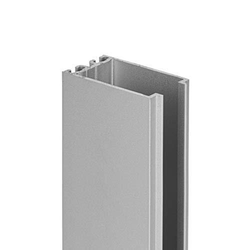 Schulte Ausgleichprofil für Alexa Style 2.0 Duschkabinen alunatur, bis zu 30 mm Ausgleich, D204530 01