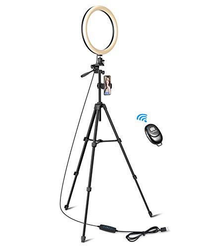 Ring Light, Tryone 12' LED Luce per Selfie con Treppiede e...