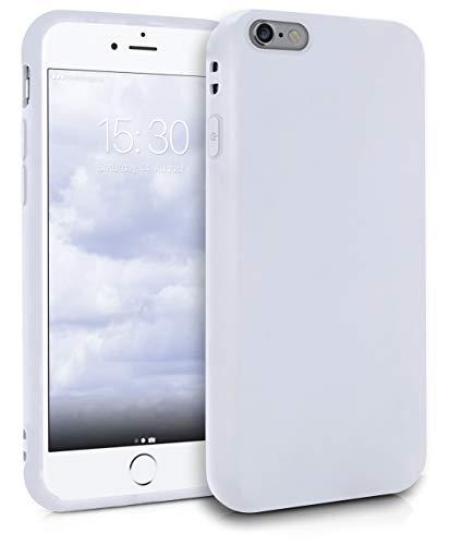 MyGadget Funda Slim para Apple iPhone 6 / 6s en Silicona TPU - Resistente Carcasa Antichoque Flexible & Protectora - Friendly Pocket Case - Blanca