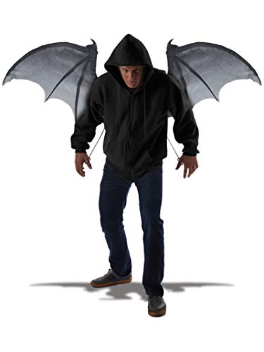 California Costumes Men's Wicked Wings, Gray/Black, One Size
