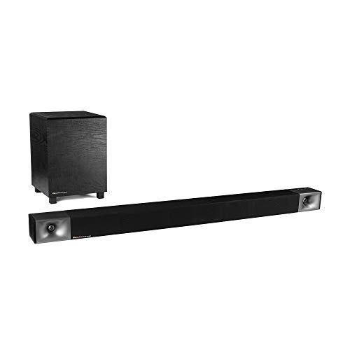 Klipsch Cinema 600 Sound Bar 3.1 Home Theater System with HDMI-ARC for Easy Set-Up