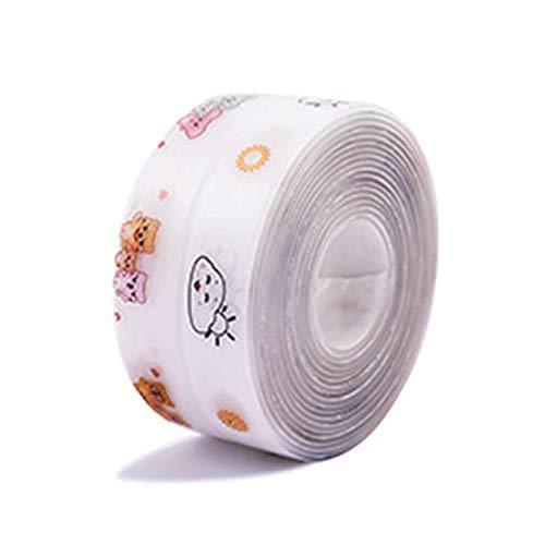 RONSHIN 1PC 3.2M zelfklevende acryl transparante sticker waterdichte keramische sticker voor keuken badkamer muur hoek lijn wastafel