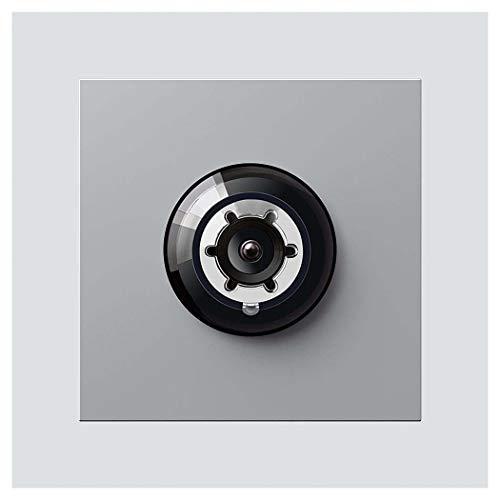 Siedle&Söhne Bus-Kamera 80 BCM 651-0 SM für Siedle Vario In-Home-Bus Funktionsmodul für Türkommunikation 4056138008124