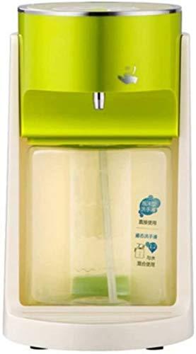 YUEXING Seifenspender, berührungslos, automatischer Handdesinfektionsmittel, Spender mit Infrarot-Bewegungssensor, für Badezimmer und Küche, 400 ml großes Fassungsvermögen, grün