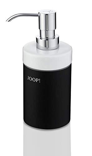 Joop! Blackline Seifenspender - Schwarz/Keramik Weiß/Chrom