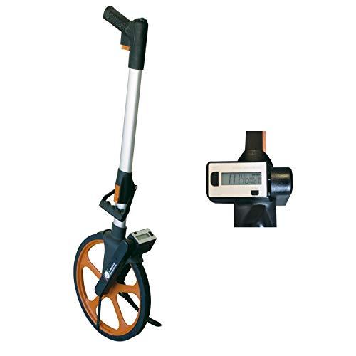 Nedo Leichtmessrad Digital Messrad Messroller Rolltacho Meßrad mit digitaler Anzeige und Bremse im Pistolegriff