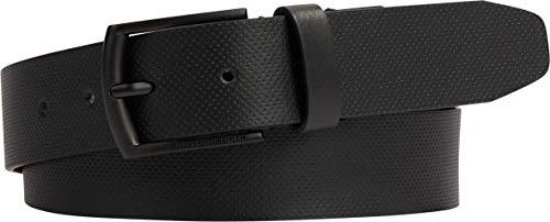 Tommy Hilfiger Tech Pique 3.5 Cinturón, Negro, 105 para Hombre