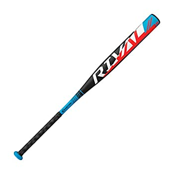 EASTON RIVAL Slowpitch Softball Bat   34 inch / 28 oz   2020   1 Piece Aluminum   Power Loaded   ALX50 Military Grade Aluminum Alloy   12 inch Barrel   Certification  Approved For All Fields