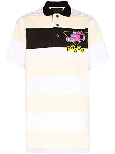 Prada Luxury Fashion Herren UJN640S2011WB8F0A8V Gelb Baumwolle Poloshirt   Frühling Sommer 20