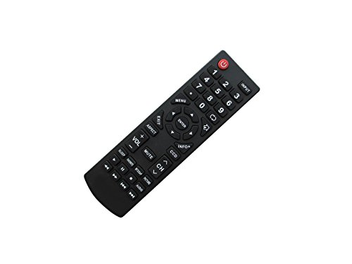 Replacement Remote Control for Dynex DX-48D510NA15 DX-40D510NA15 DX-LCDTV19 DX-32LD150A11 DX-26LD150A11 DX22L150A11E22A5ZNKLWBDNN DX22L150A11E22A5ZNKLWBENN DX22L150A11E22A5ZNKLWBMNN LCD LED HDTV TV